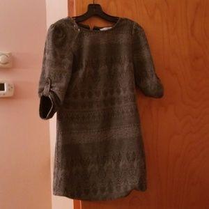 Grey cozy shirt dress!!!